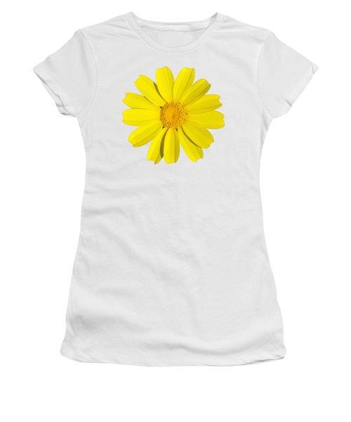 Crown Daisy Women's T-Shirt (Junior Cut) by George Atsametakis
