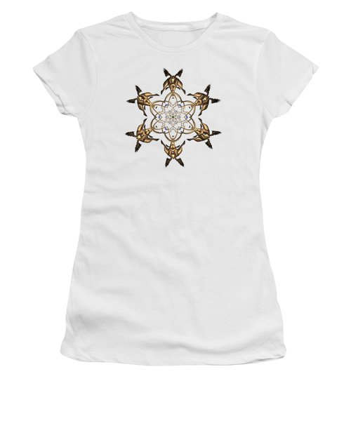 Women's T-Shirt featuring the digital art Crystal 24 by Robert Thalmeier