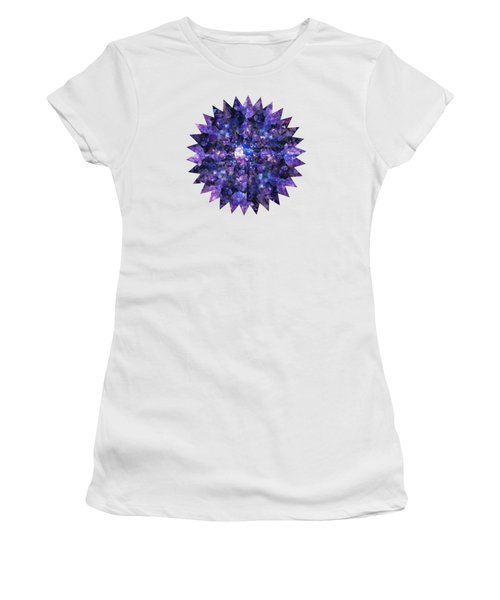 Crystal Magic 1 Women's T-Shirt (Junior Cut) by Leanne Seymour