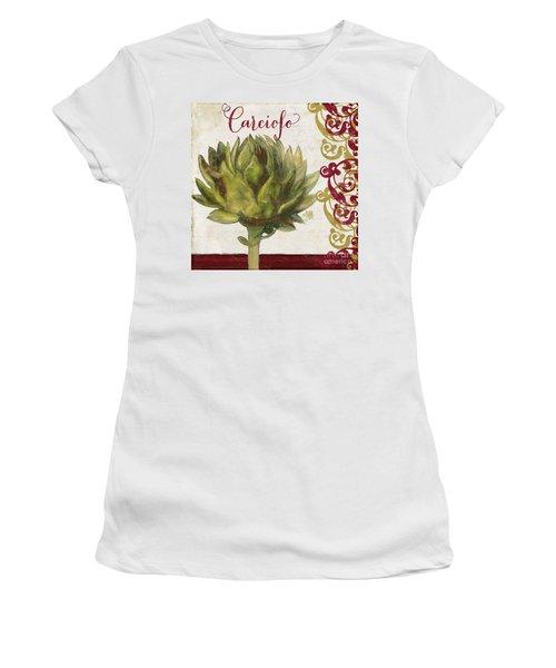Cucina Italiana Artichoke Women's T-Shirt