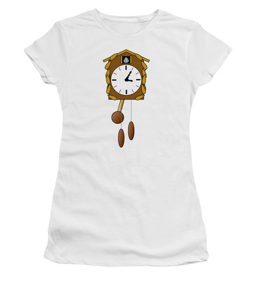 Cuckoo Clock Women's T-Shirt (Athletic Fit)