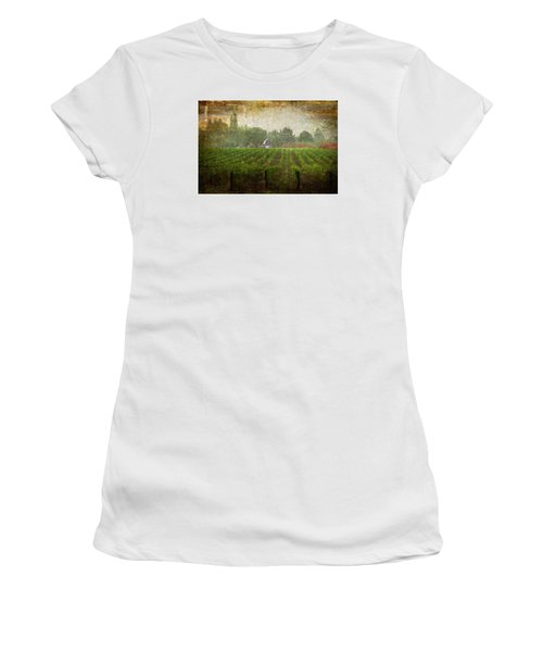 Cultivating A Chardonnay Women's T-Shirt (Athletic Fit)