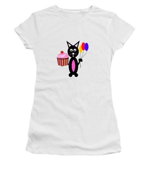Cup Cake Party Women's T-Shirt (Junior Cut) by Kathleen Sartoris