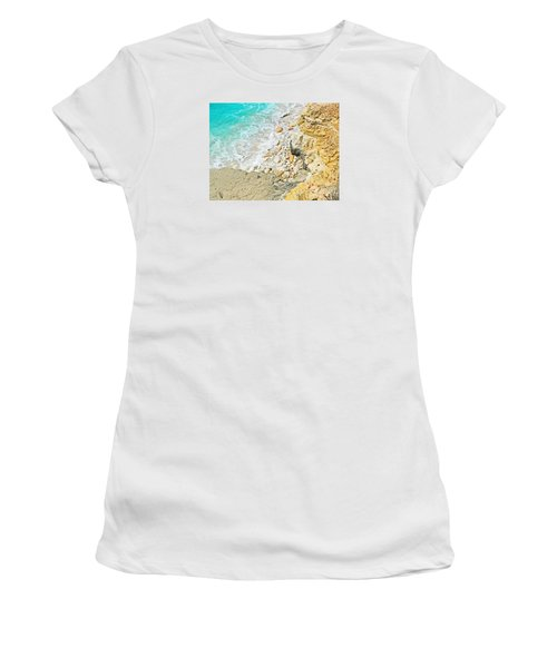 The Sea Below Women's T-Shirt (Athletic Fit)