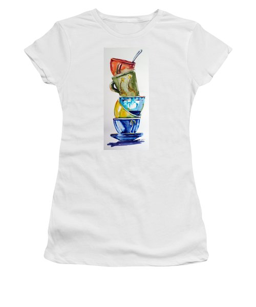 Cups Women's T-Shirt (Athletic Fit)