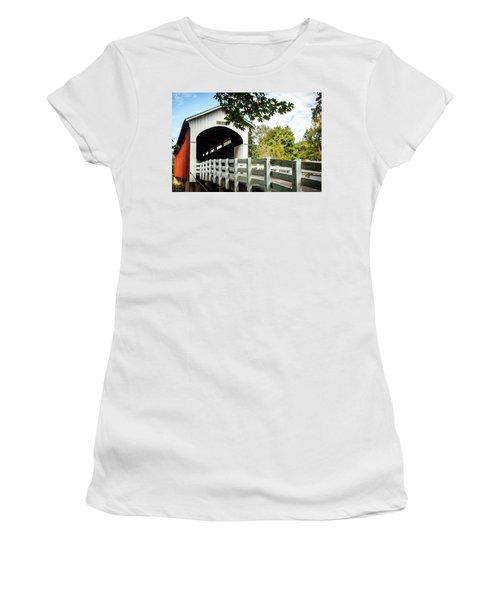 Currin Bridge Women's T-Shirt (Athletic Fit)