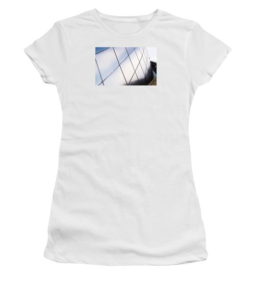 Curve Of The Cone Women's T-Shirt (Junior Cut) by Martin Cline