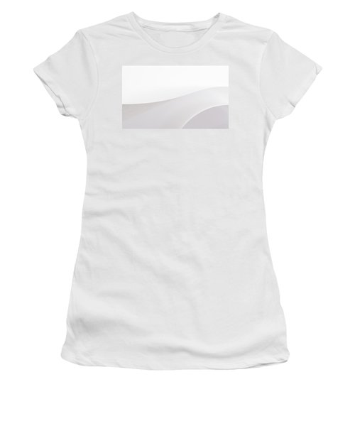 Curves Women's T-Shirt (Junior Cut) by Yvette Van Teeffelen