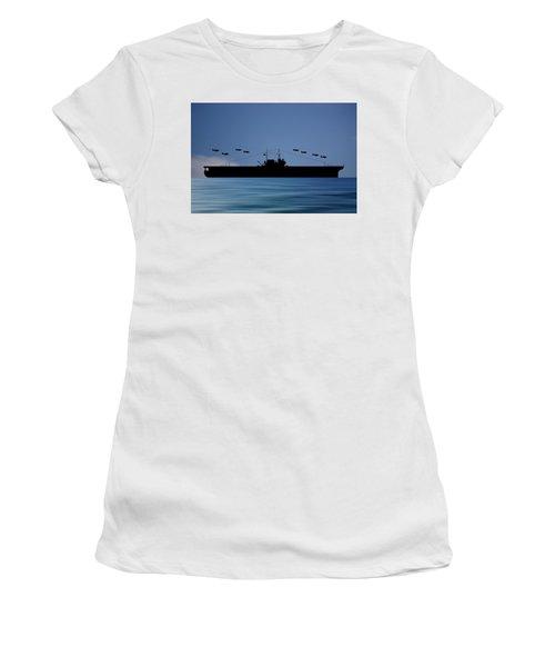 Cus Thomas Jefferson 1932 V4 Women's T-Shirt (Athletic Fit)