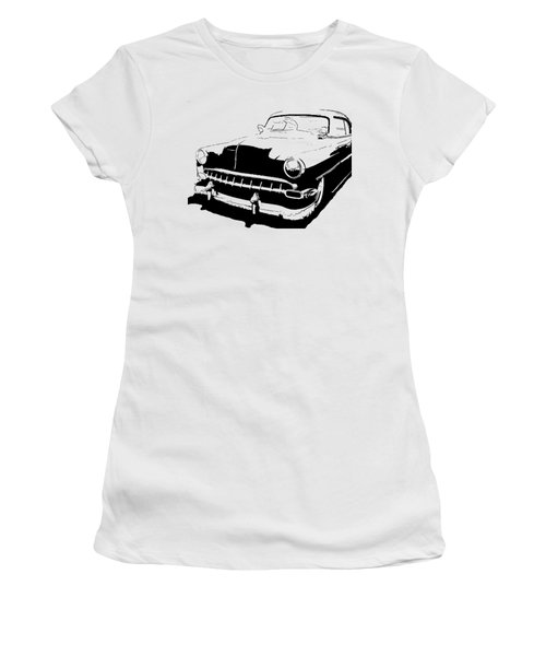 Custom 1954 Chevy Tee Women's T-Shirt (Athletic Fit)