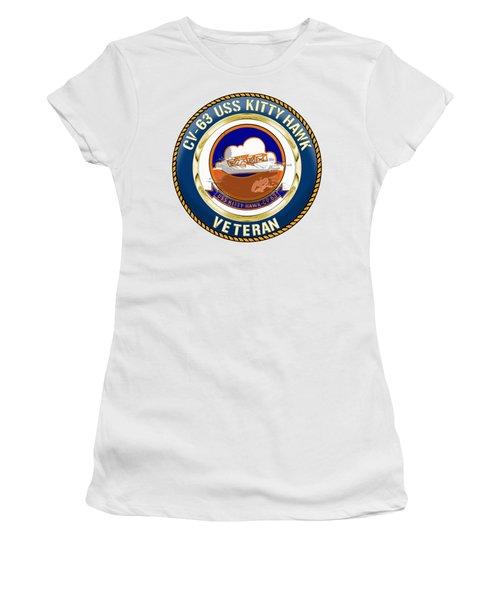 Cv-63 Uss Kitty Hawk  Women's T-Shirt
