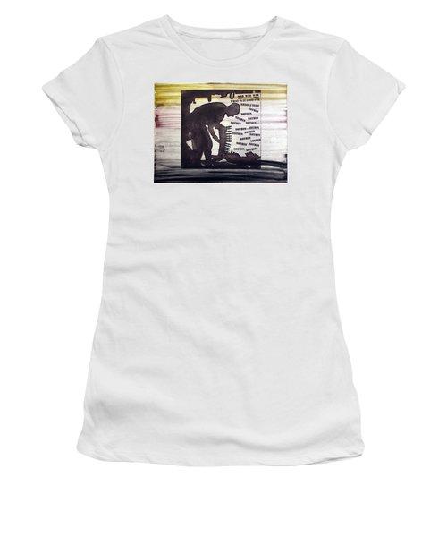 D U Rounds Project, Print 45 Women's T-Shirt