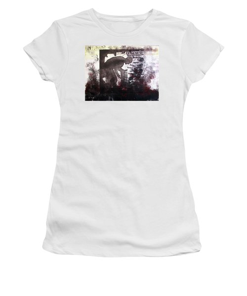 D U Rounds Project, Print 46 Women's T-Shirt