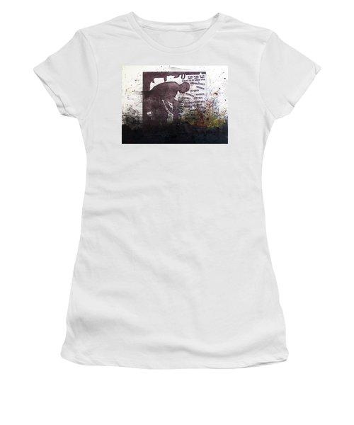 D U Rounds Project, Print 51 Women's T-Shirt