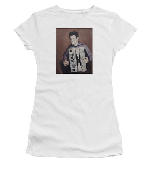 Daddy And His Accordion Women's T-Shirt