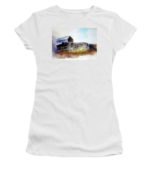 Dad's Farm House Women's T-Shirt