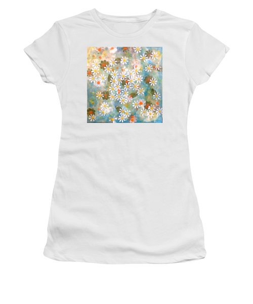 Daisy Days Women's T-Shirt (Athletic Fit)
