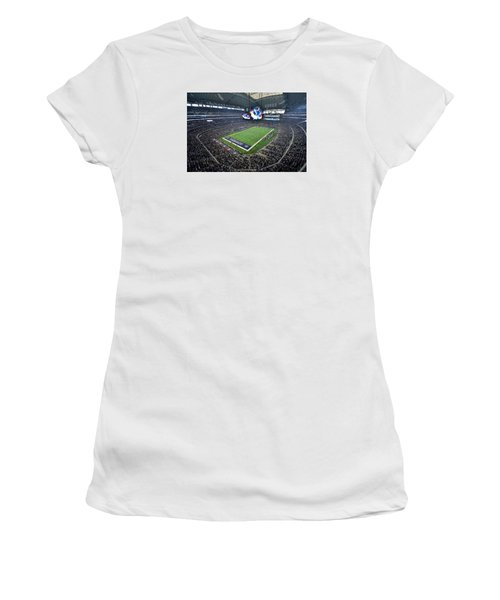 Dallas Cowboys Att Stadium Women's T-Shirt (Athletic Fit)