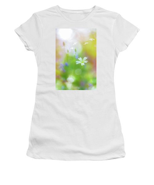 Dance Of The Nature Spirits Women's T-Shirt (Athletic Fit)