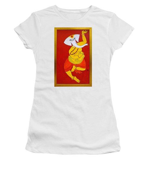 Dancing Ganesha Women's T-Shirt
