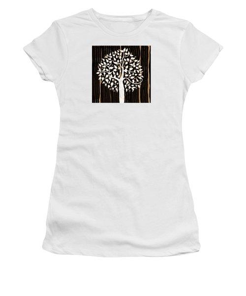 Dark Winter Women's T-Shirt (Junior Cut) by Patricia Arroyo