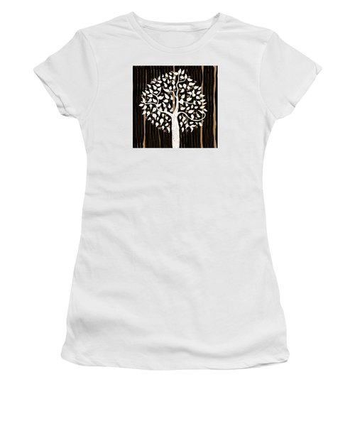 Dark Winter Women's T-Shirt (Athletic Fit)