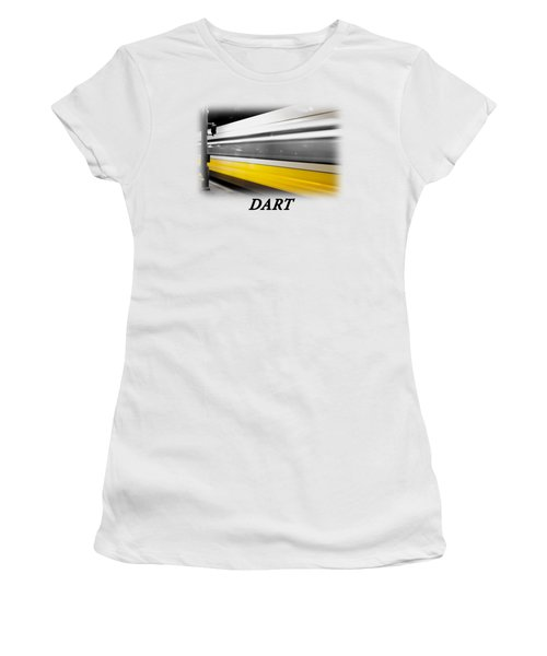 Dart Train T-shirt Women's T-Shirt (Athletic Fit)