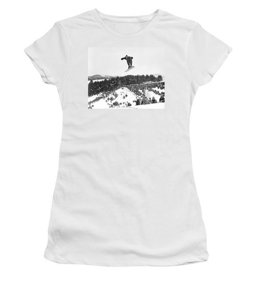 Dartmouth Carnival Ski Jumper Women's T-Shirt