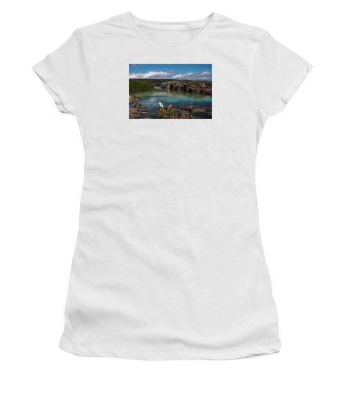 Darwin Bay     Genovesa Island      Galapagos Islands Women's T-Shirt (Athletic Fit)