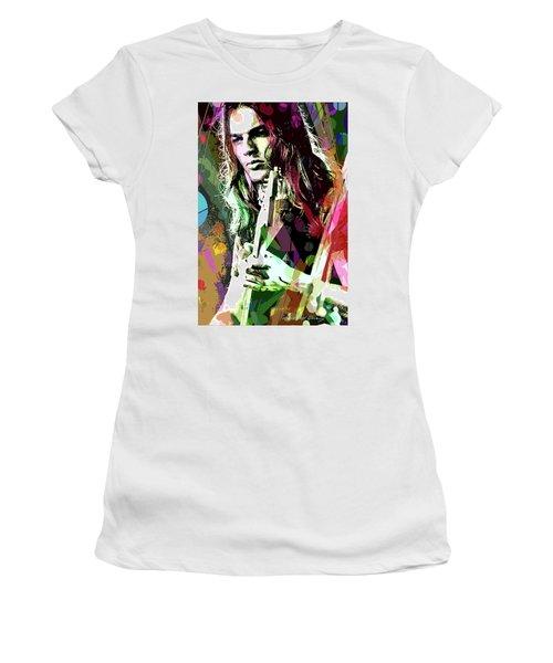 Dave Gilmour Dark Side Women's T-Shirt