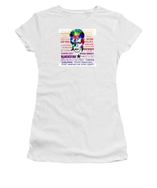 David Bowie Tribute Women's T-Shirt