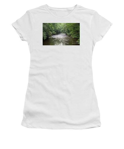 Davidson River In North Carolina Women's T-Shirt
