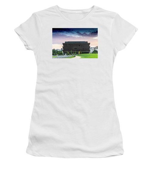 Dawn At The National Museum Of African American History And Culture.  No 1 Women's T-Shirt