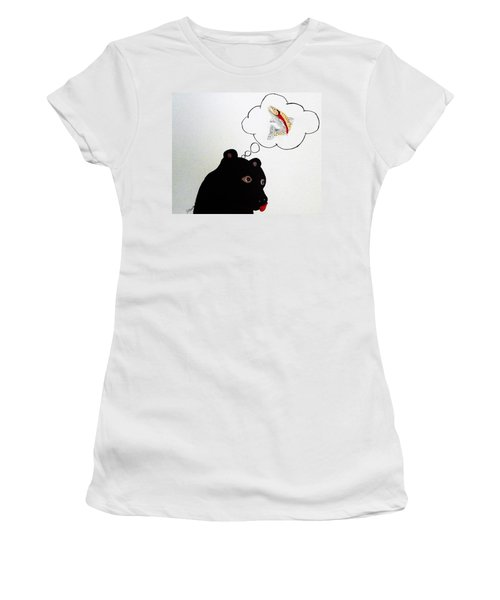 Day Dreaming Of Lunch Women's T-Shirt (Junior Cut) by Joseph Frank Baraba