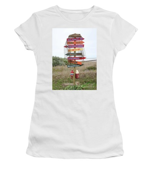 Daytona Crossroads Women's T-Shirt (Athletic Fit)
