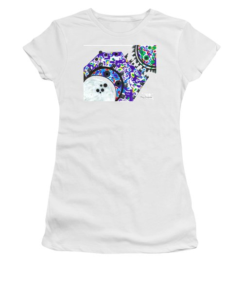 Deco Cogs Women's T-Shirt (Athletic Fit)
