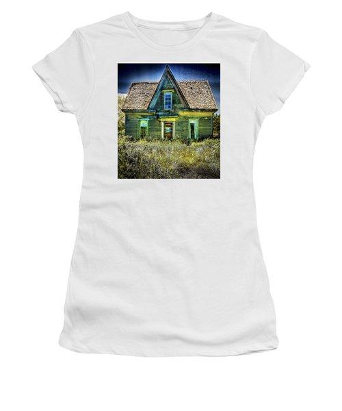 Deer Isle Haunted House Women's T-Shirt