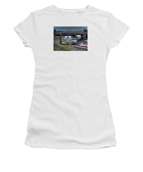 Del Mar Amtrak Women's T-Shirt (Athletic Fit)