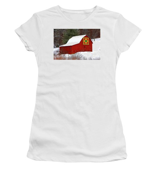 Delectable Mountains Snow Women's T-Shirt