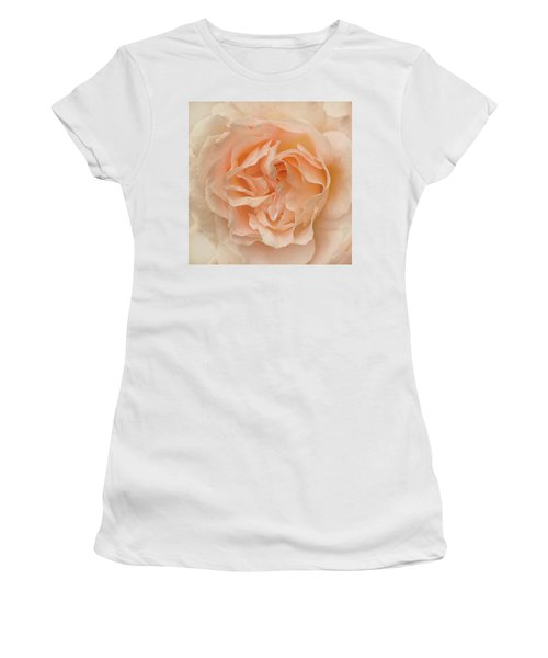 Delicate Rose Women's T-Shirt (Junior Cut) by Jacqi Elmslie
