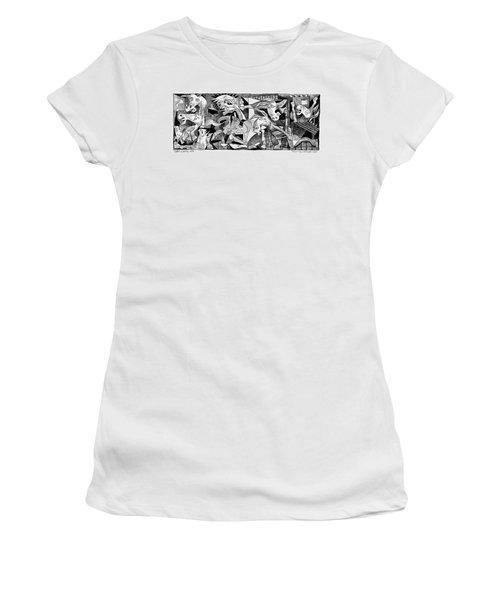 Democrat Guernica Women's T-Shirt