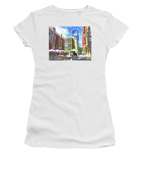 Denver Art Walk Women's T-Shirt (Athletic Fit)