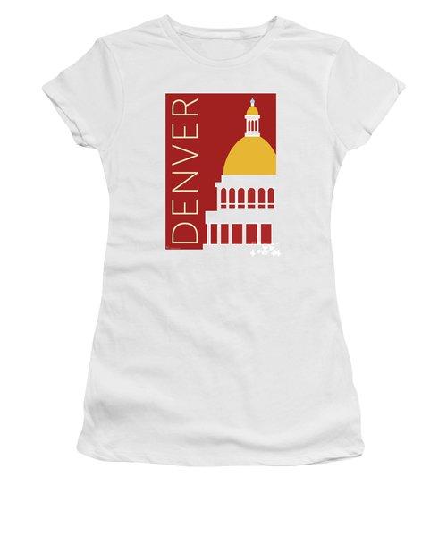 Denver Capitol/maroon Women's T-Shirt