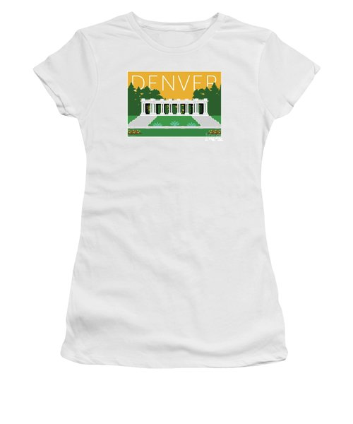 Denver Cheesman Park/gold Women's T-Shirt