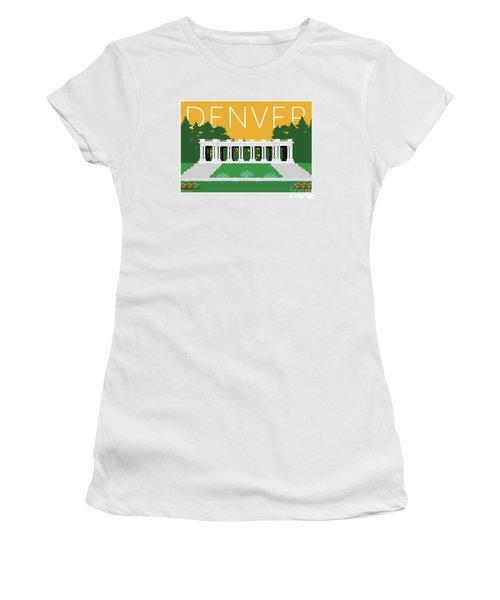 Denver Cheesman Park/gold Women's T-Shirt