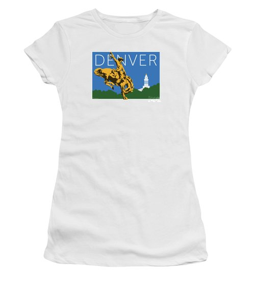 Denver Cowboy/dark Blue Women's T-Shirt