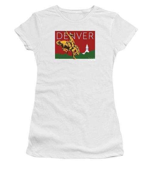 Denver Cowboy/maroon Women's T-Shirt