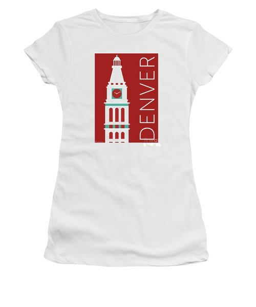 Denver D And F Tower/maroon Women's T-Shirt