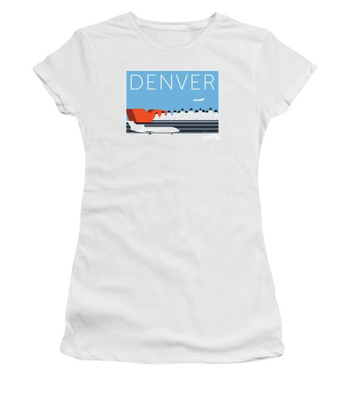 Denver Dia/blue Women's T-Shirt