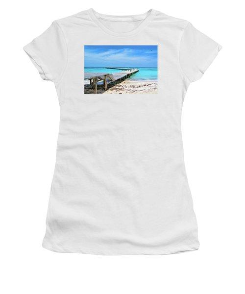 Departure Point Women's T-Shirt (Athletic Fit)